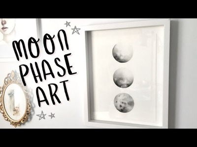 Watercolor Moon Phases DIY???? ???? ???? Everything Changes (Painting Tutorial and Chat)