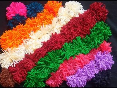Amazing colors wool doormat   How to make Doormat in Home .