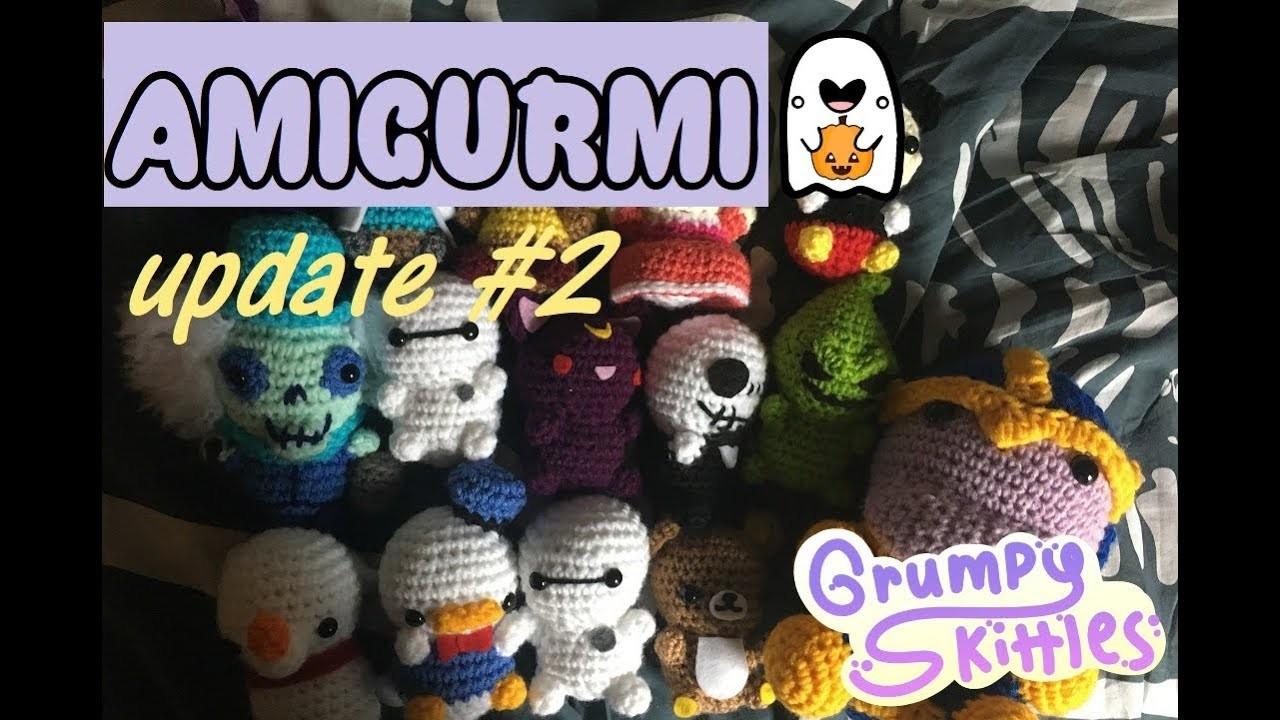 AMIGURUMI UPDATE  | 2 | Crochet Plushie Collection