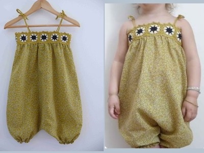 Beautiful frocks for kids | how to make easy frocks for kids