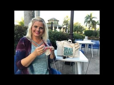 Create share inspire 238 podcast Kristin Omdahl knitting crochet yarn crafts & more