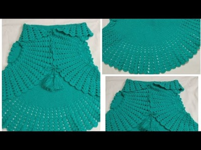 Crochet bolero shrug jacket IN different style