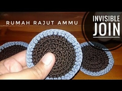 CROCHET || Membuat Invisible Join - How To Make Invisible Join