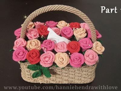 Crochet || Merajut Cover Kotak Tisu - Tissue Box Cover (Part 1.3)