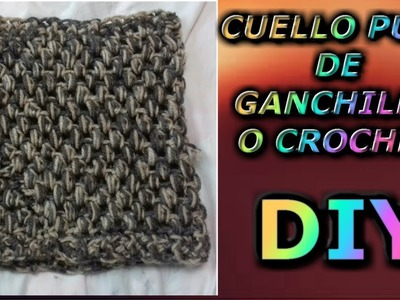 DIY: Cuello puff de ganchillo o crochet