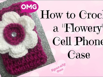 ???? How to Crochet a Cute Cell Phone Case ????