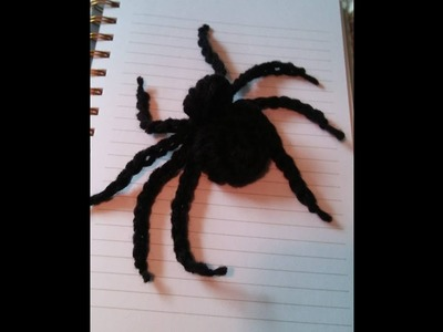 How to Crochet a Spider Tutorial