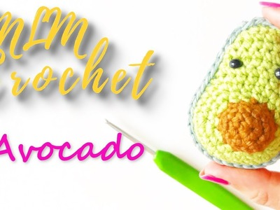 How to Crochet an Avocado