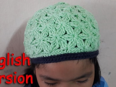 How to crochet Blossom beanie | English version