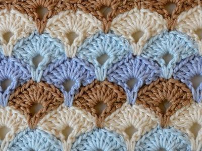 How to Crochet BOX STITCH Tutorial (English)