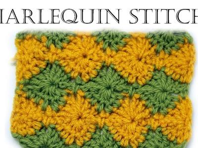 How to Crochet Harlequin Stitch