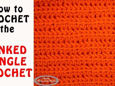 How to Crochet the LINKED SINGLE CROCHET