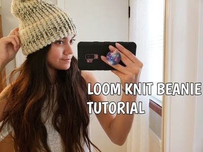 HOW TO: LOOM KNIT A DOUBLE BRIM BEANIE