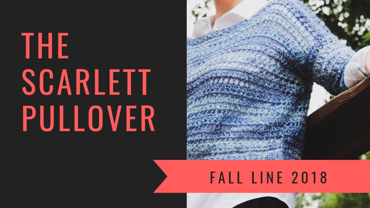 How To Make A Crochet Sweater | The Scarlett Sweater Tutorial By YarnHookNeedles