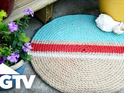 How to Make a Jute Rope Rug - HGTV