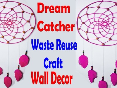 How To Make Awesome Dream Catchers With Yarn | DIY Carry Bag Dreamcatcher Wall Decor | Beads Craft