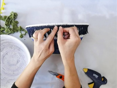 How to Make Bohemian Baskets - The Easiest DIY Ever!
