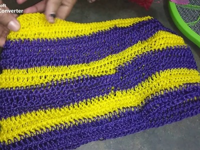 How to Make - crochet basket - Part - 6