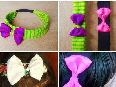 How to make hair bands for kids.Malayalam video.