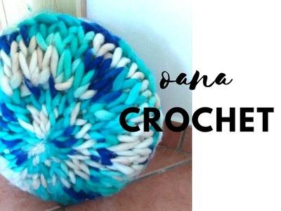 Pillow crochet in 1 hour by Oana