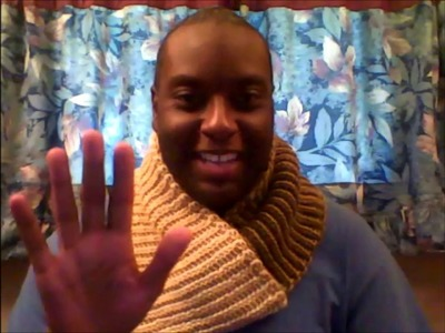 Two-Color Reversible Tunisian Crochet (with a single-ended hook) Video 2 of 3