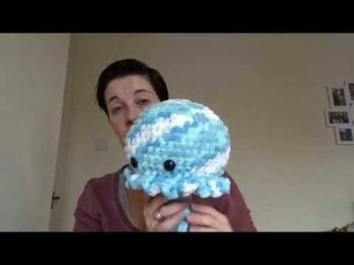 Vlebtember day 22 - Poorly Jack 22.09.18 - Crochet vlog
