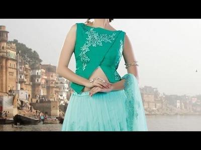 Designer top for skirt.lehenga cutting and stitching| how to make top. blouse for skirt.lehenga