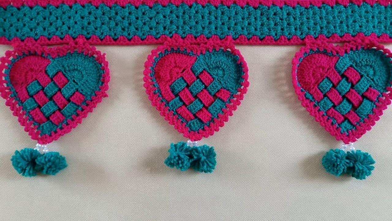 Diy Beautiful Wool Toran Making How To Make Door