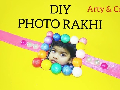 DIY Easy Photo Rakhi for Raksha Bhandan | how to make rakhi | handmade rakhi in 5 min | Photo Rakhi