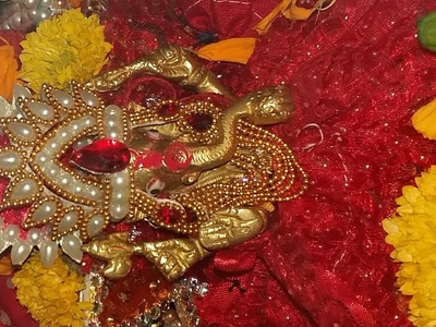 DIY Ganpati  mukut design no.3 || how to make mukut for laddoo gopal || hand made mukut for God
