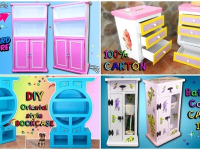 DIY How to MAKE your own FURNITURE using CARDBOARD | CRAFTS to do at home