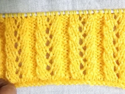 Easy Single Color Knitting Pattern No.131 for Ladies.Gents.Kids Hindi