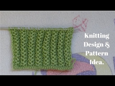 Easy Sweater Design || Knitting Design Pattern | in Hindi.
