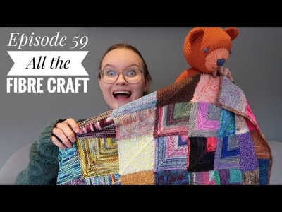 Ep 59 - All the fibre crafts - Arctic Knitting Podcast