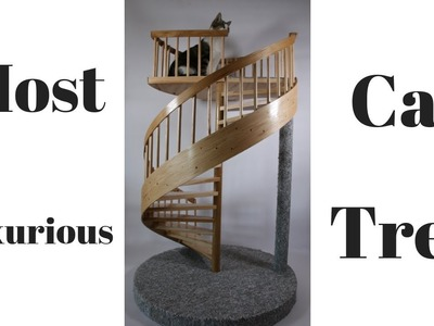 How I built the most luxurious Spiral Staircase Cat Tower  1.3 Scale