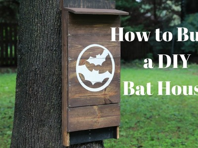 How to Build a DIY Bat House - DIY Crafts - Thrift Diving