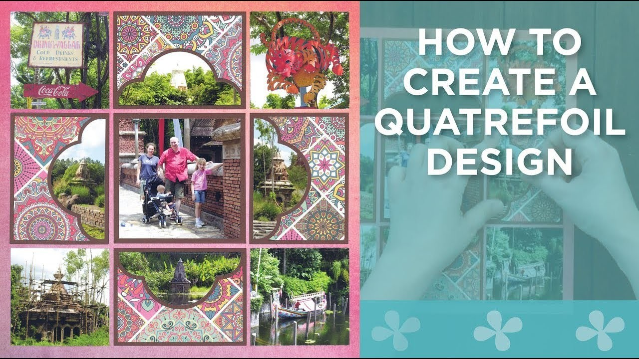 How to Create a Quatrefoil Design with Mosaic Moments