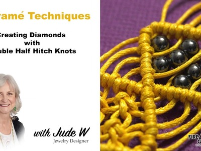 How to Create Diamonds with Double Half Hitch Knots