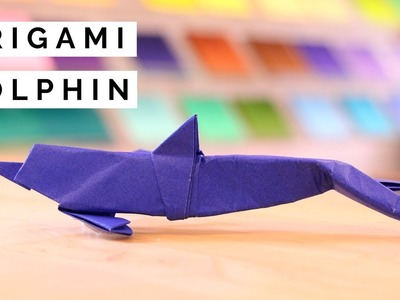How to Fold an Origami Dolphin Tutorial - ft. Joe Adia at Taro's Origami Studio Brooklyn, NY
