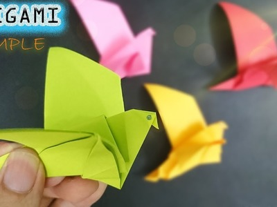 How to Fold the Pigeon just Beautiful and Fast - Easy to make Origami – Paper Magic Top