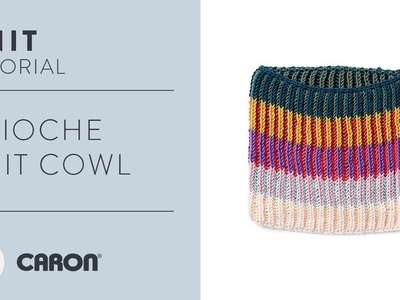 How to Knit the Brioche Knit Cowl