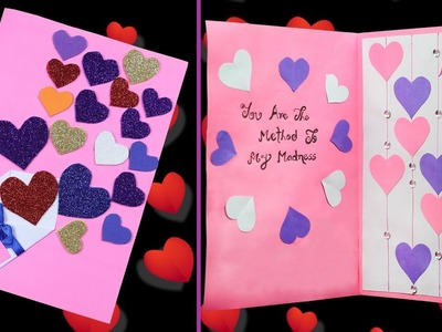 How to make A beautiful greeting card for Anniversary | DIY Anniversary Card