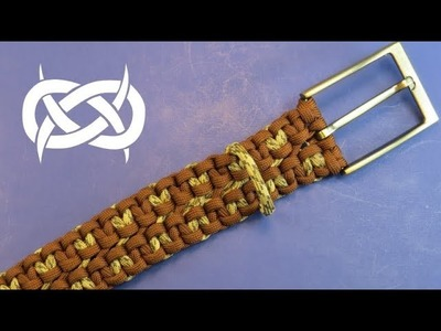 How to make a BrownScale (Color Change) RattlerStrap Paracord Belt