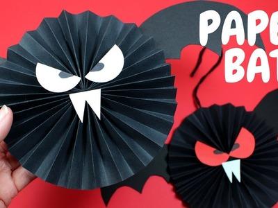 How to Make a Paper Bat | Halloween Crafts