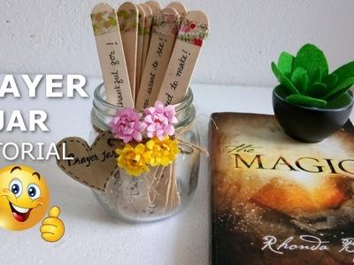 How to Make A Prayer Jar. How I Made My Prayer Jar