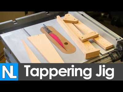 How to make a tapering jib - simple woodworking DIY