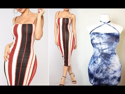 How To Make A Tube Dress With Straps