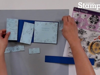 How to Make a Z- Fold Card