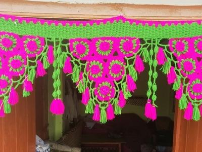 How to make beautiful wool toran.bandhanbar