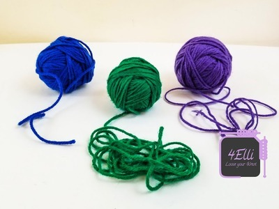 How to make center pull balls of yarn (EN)